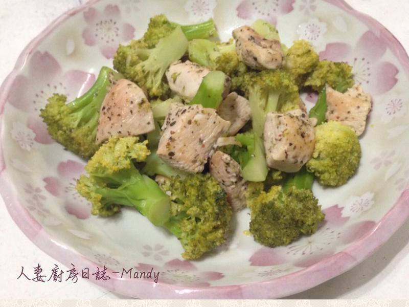 義式香雞佐綠花椰菜