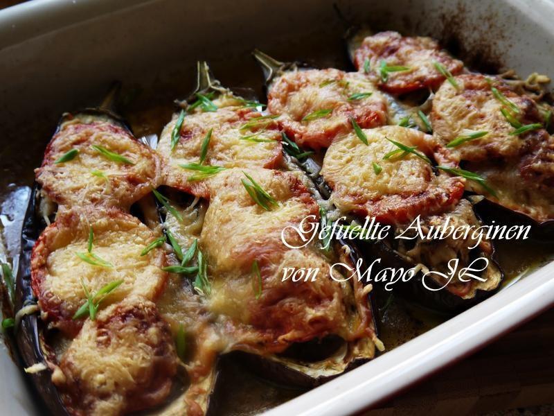 焗烤長茄/圓茄鑲肉