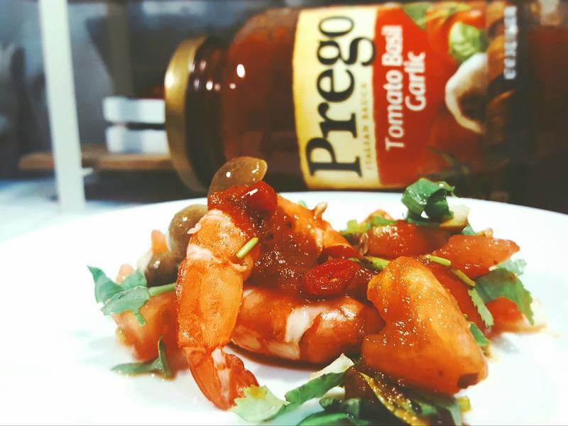 鮮蝦番茄涼拌莎莎醬