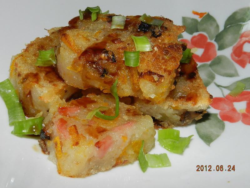 ㄚ曼達的廚房~金瓜糕
