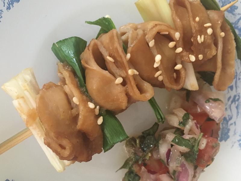 日式串燒烤大腸頭