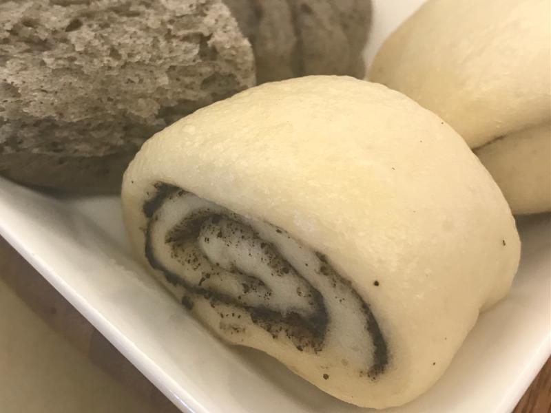 饅頭挑戰賽💪🏻牛奶芝麻饅頭快速法