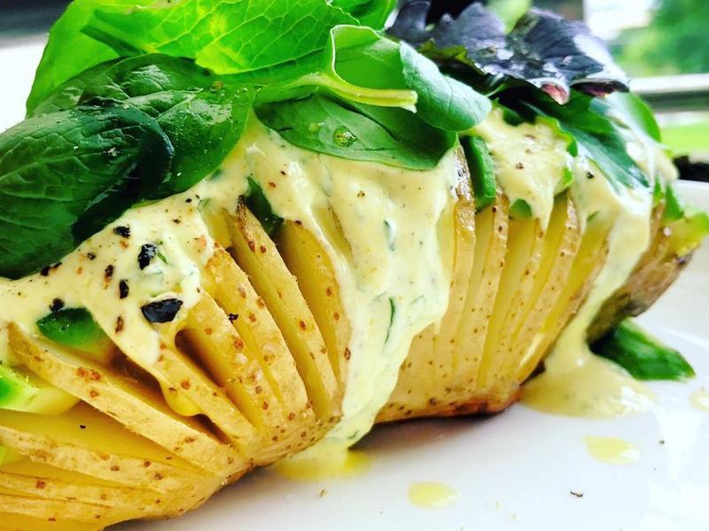 素食:薄荷風琴馬鈴薯