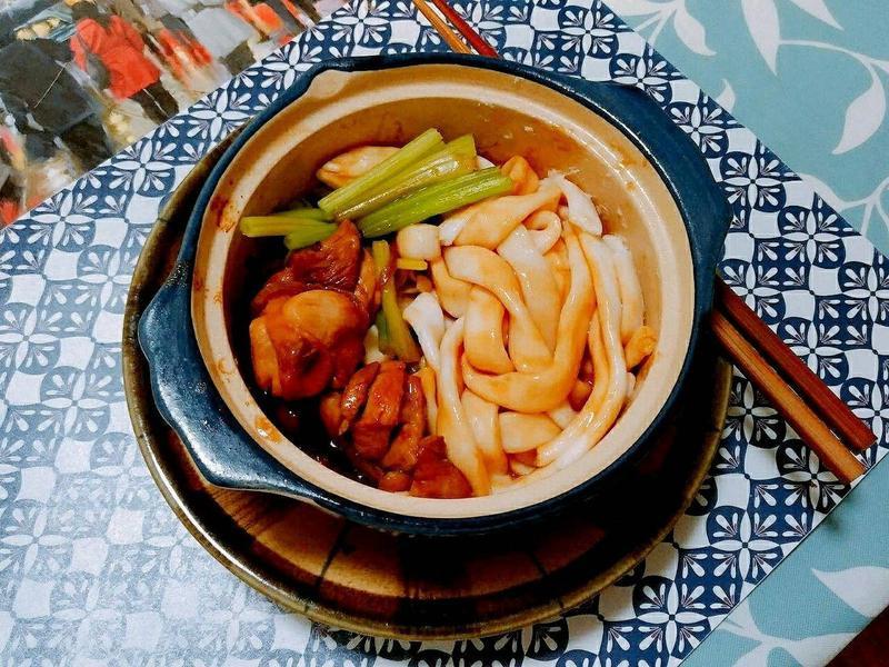 花雕雞炒粿條