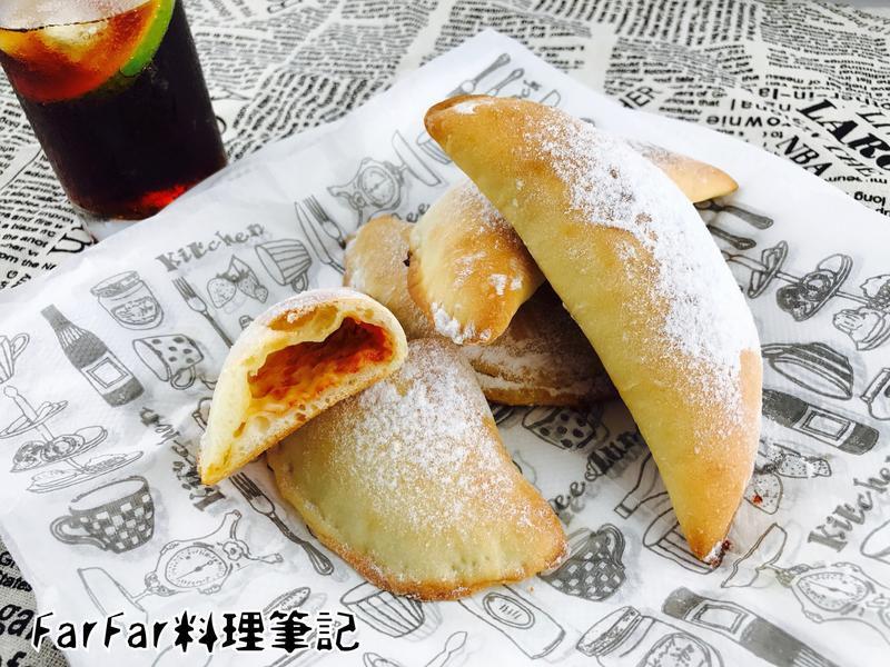 糖霜披薩餃