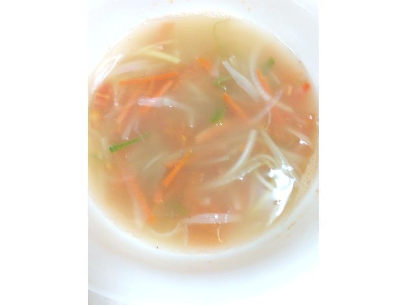 蔬菜絲清湯