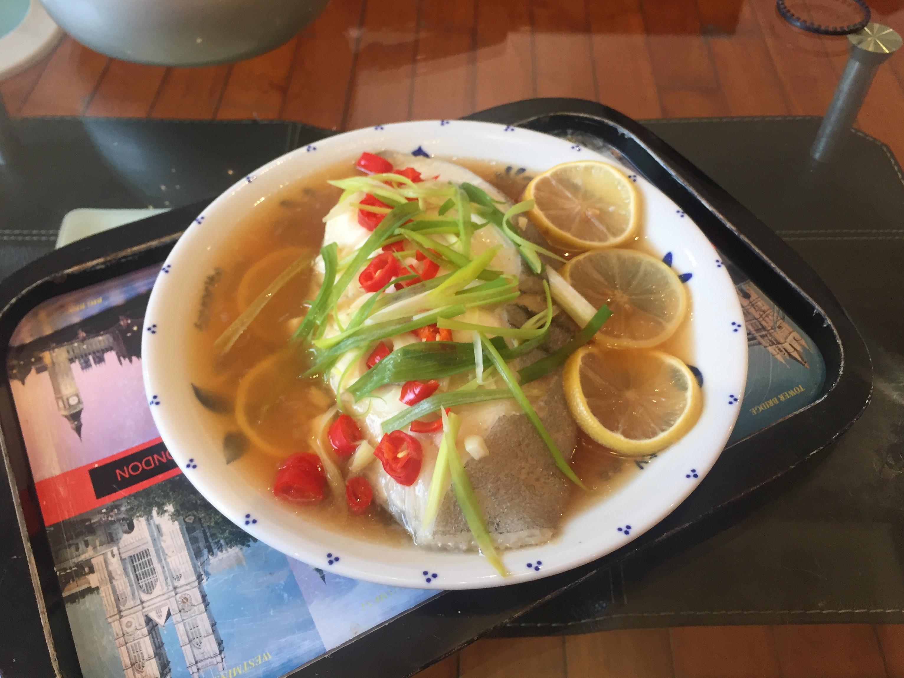 混搭泰式檸檬清蒸鱈魚
