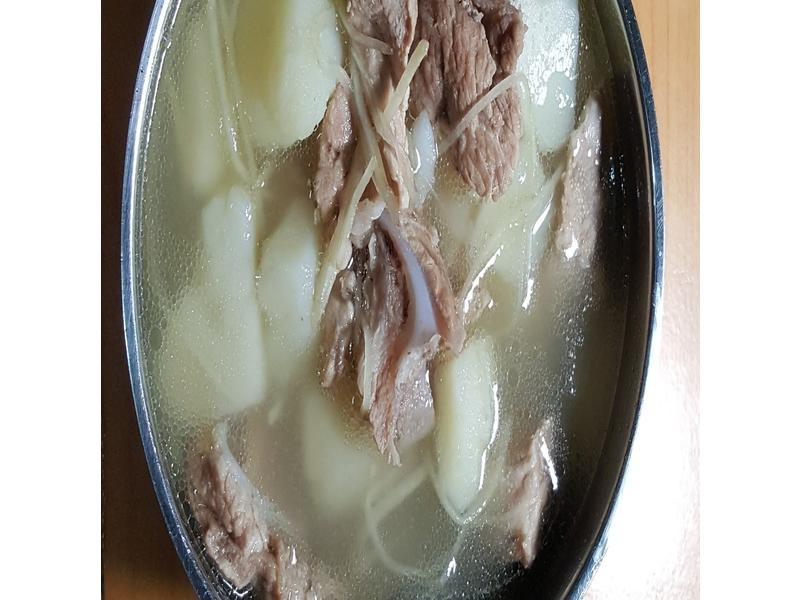 馬鈴薯瘦肉湯