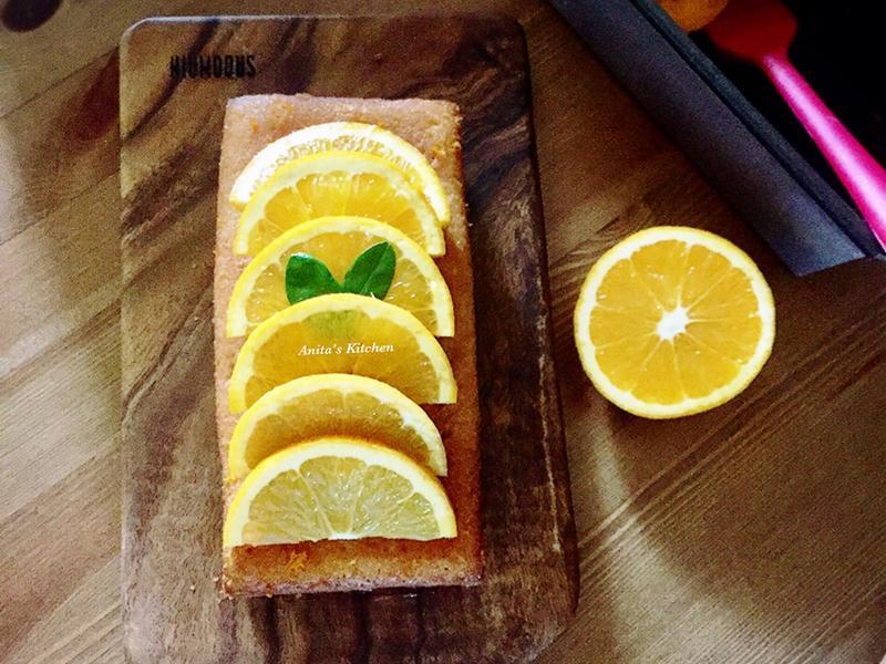 Orangey Cake橙香蛋糕~減糖版