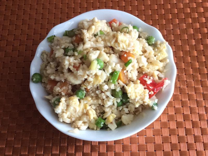 椰菜花炒飯