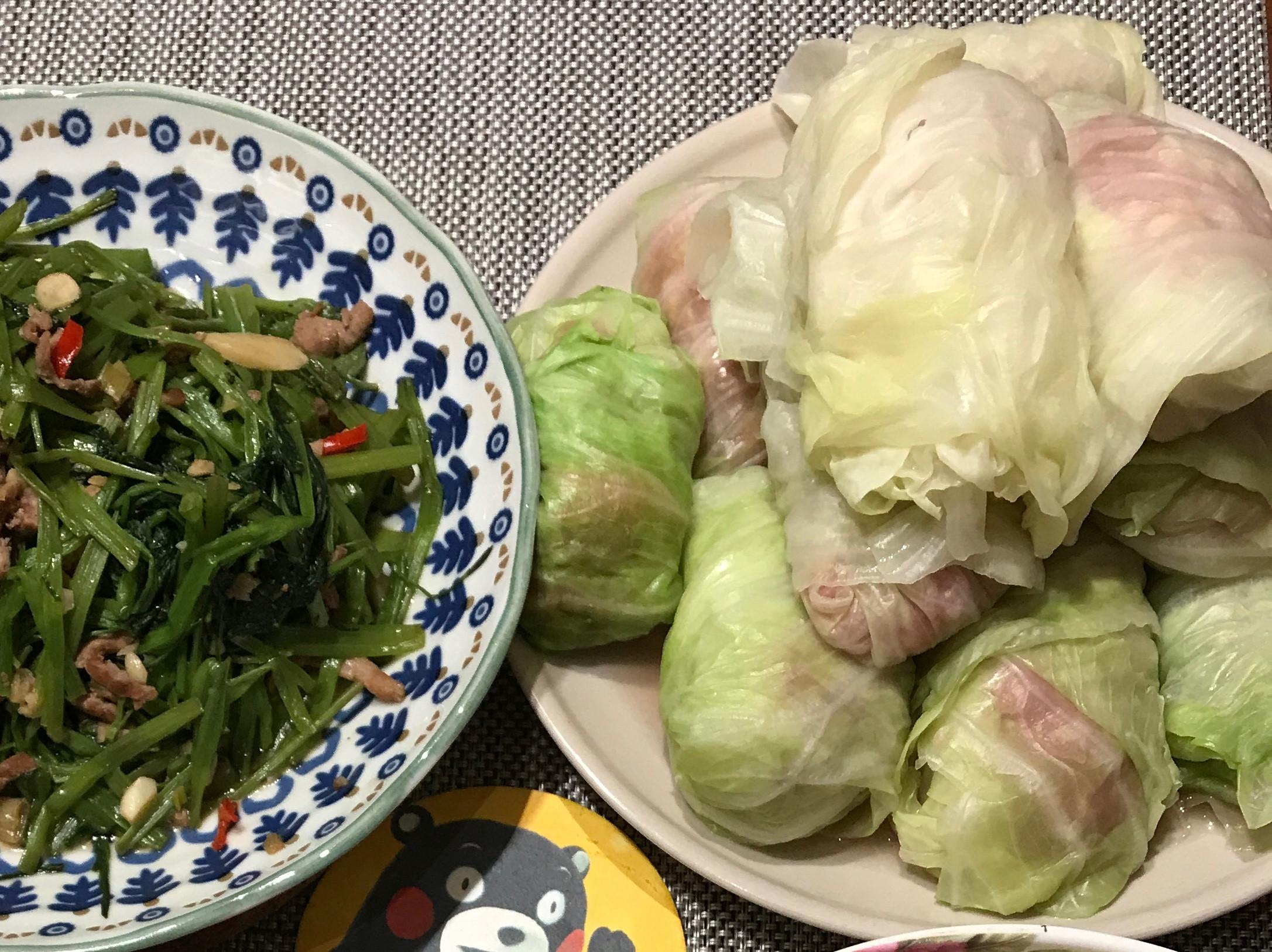 [一人開飯]高麗菜捲