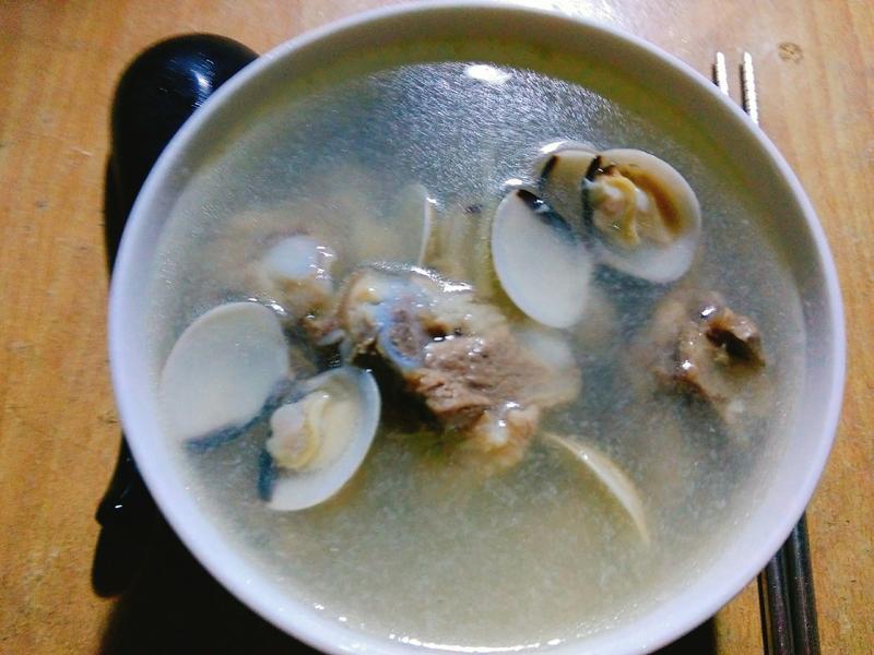 蛤蜊排骨湯