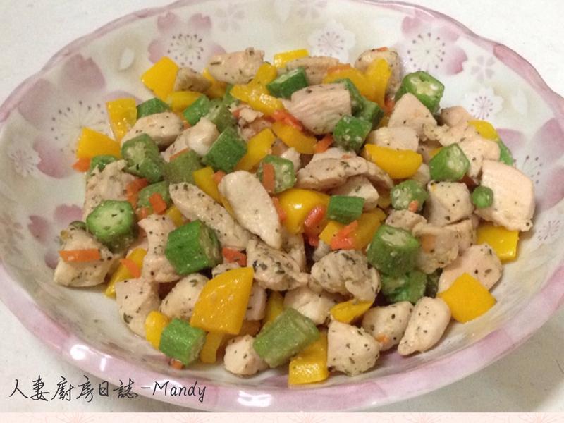 雞丁鮮蔬-宴客版