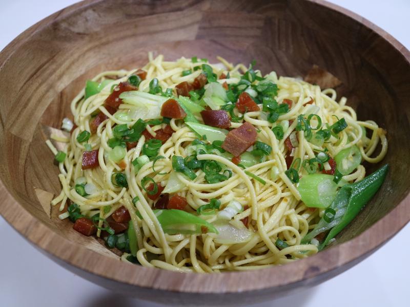 烏魚子青蔥義大利麵