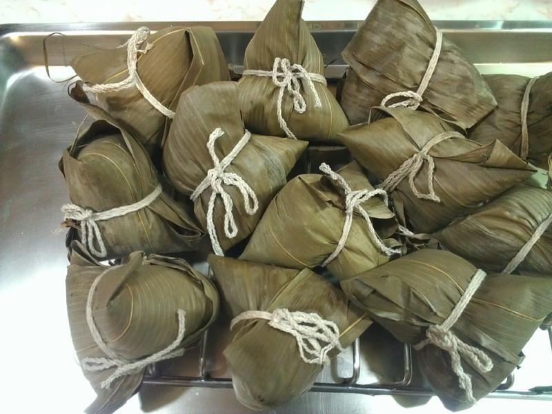 赤豆粽(紅豆粽)-120626