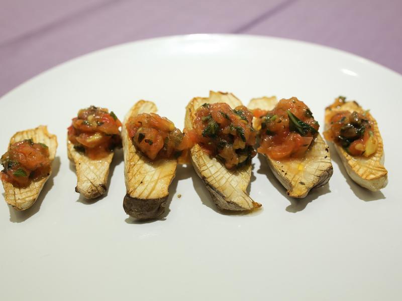護肝料理 - 茄汁杏菇排