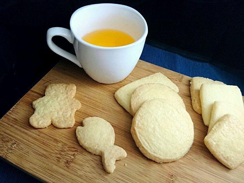 蘇格蘭奶油餅乾 (無泡打粉)