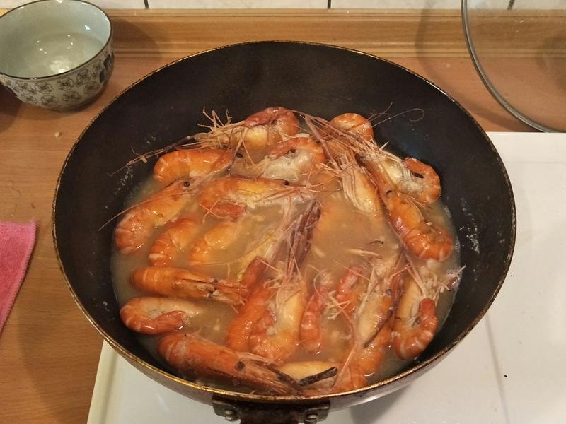 蒜香啤酒蝦