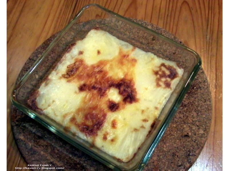 懶人料理-焗烤麻鈴薯泥 120630