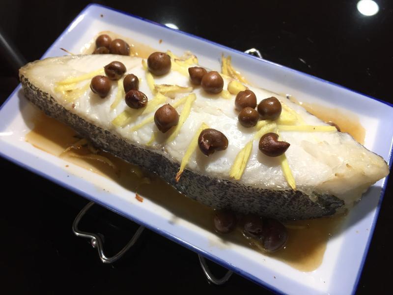 簡單烤鱈魚