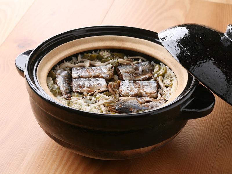 掌廚房.佃煮秋刀魚炊飯
