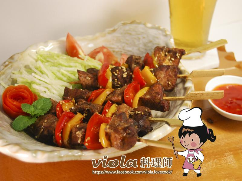 墨西哥風味烤肉串