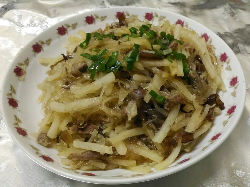 醋溜豆薯冬粉