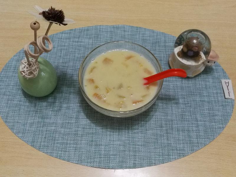 (煮食影片)南瓜西米露 (低糖版)