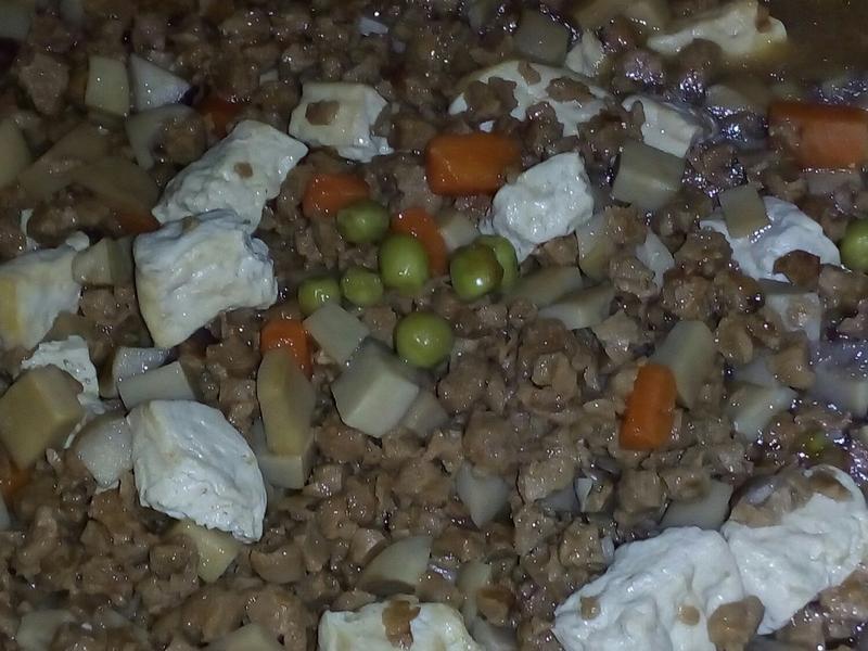 杏鮑菇素肉燥