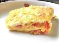 番茄起司煎蛋捲 Omelet~