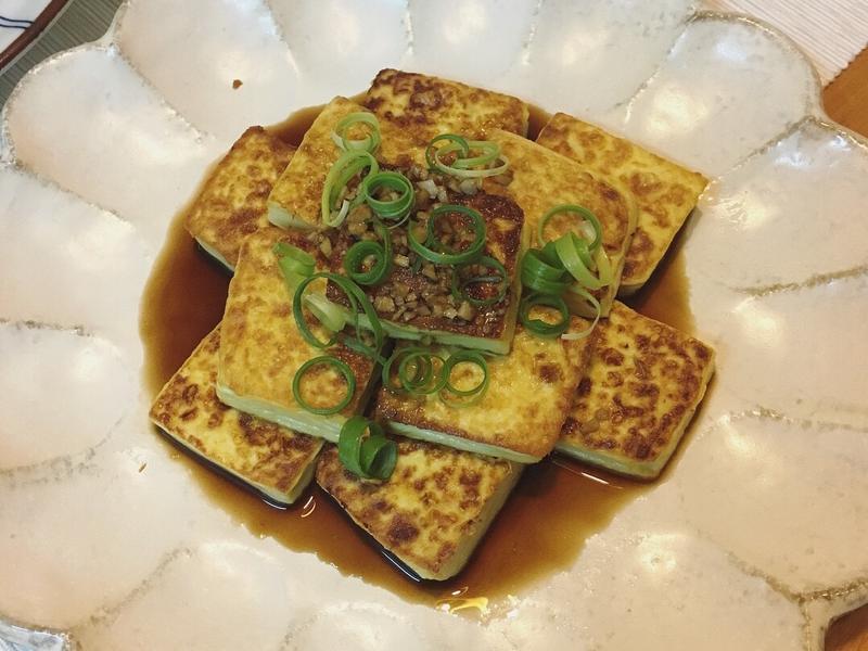 蔥燒雞蛋豆腐