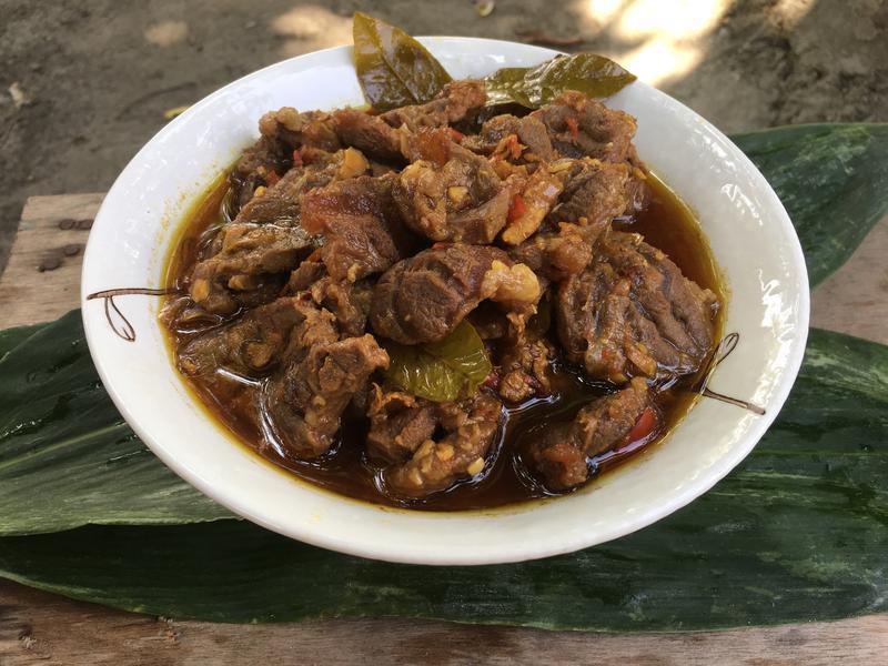 峇里的牛肉