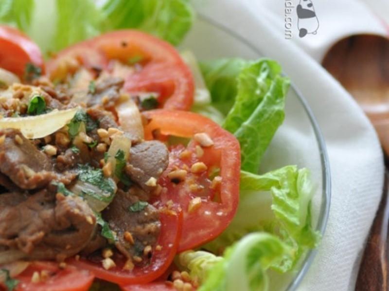 [肥丁手工坊] 越式蕃茄牛肉沙律 ~ 輕怡醒胃