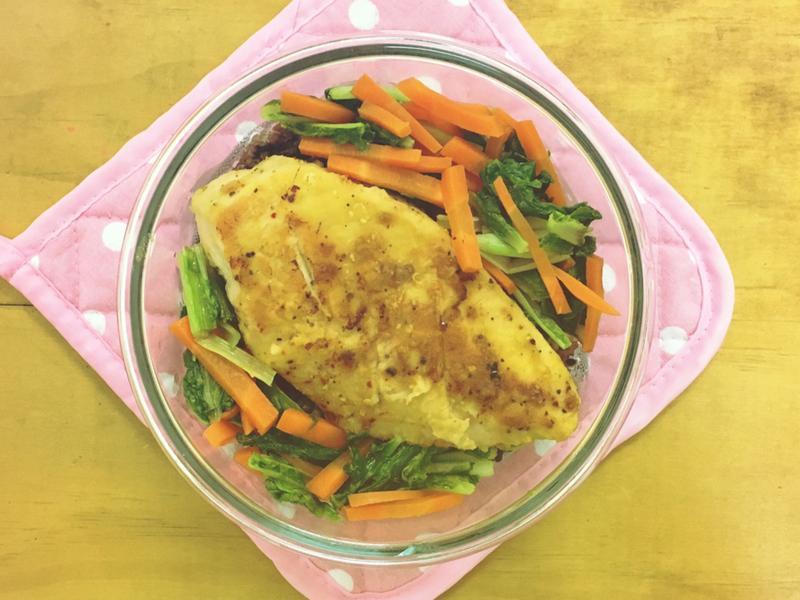 [上班午餐]椒鹽雞排便當