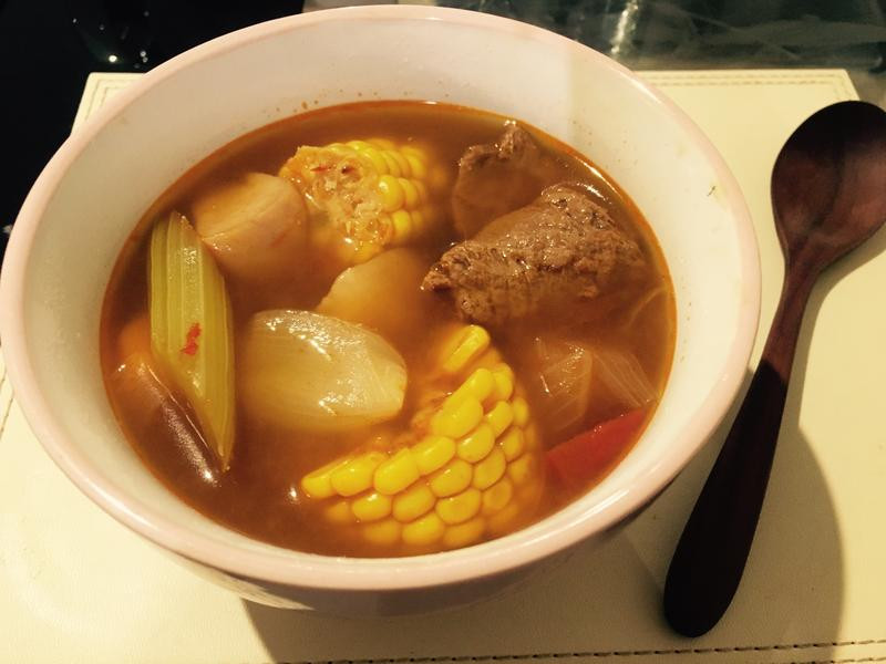 在國外也可以煮的--美味紅燒湯