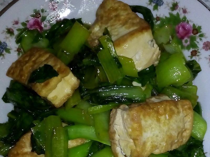 黃金青江菜
