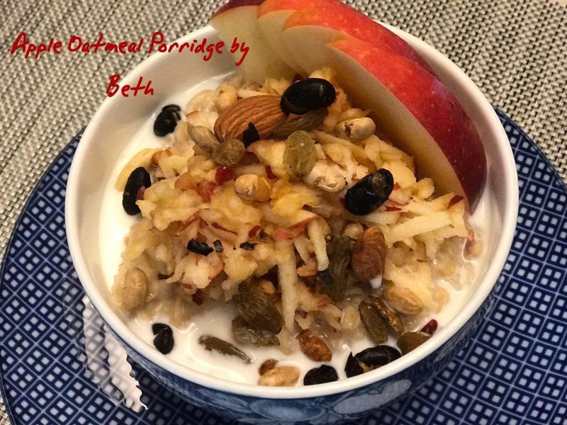 蘋果燕麥粥 - 早餐