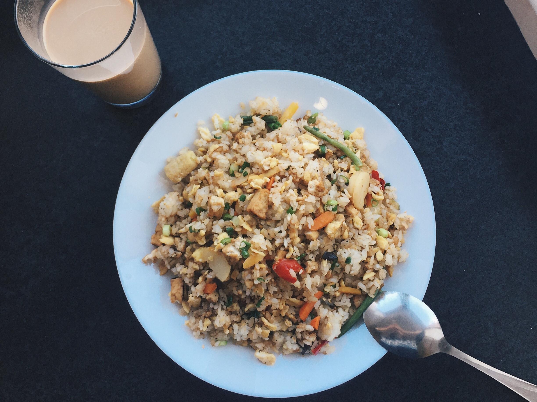 味增豆腐炒飯