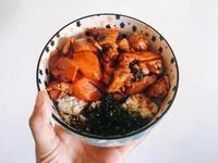 韓式泡菜雞伴飯