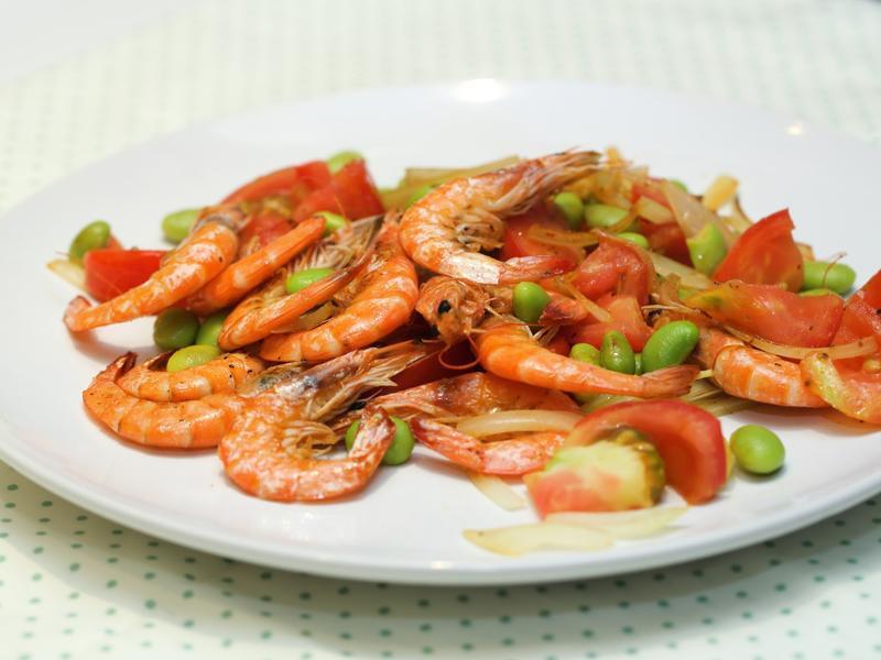 抗氧化料理 - 茄汁鮮蝦