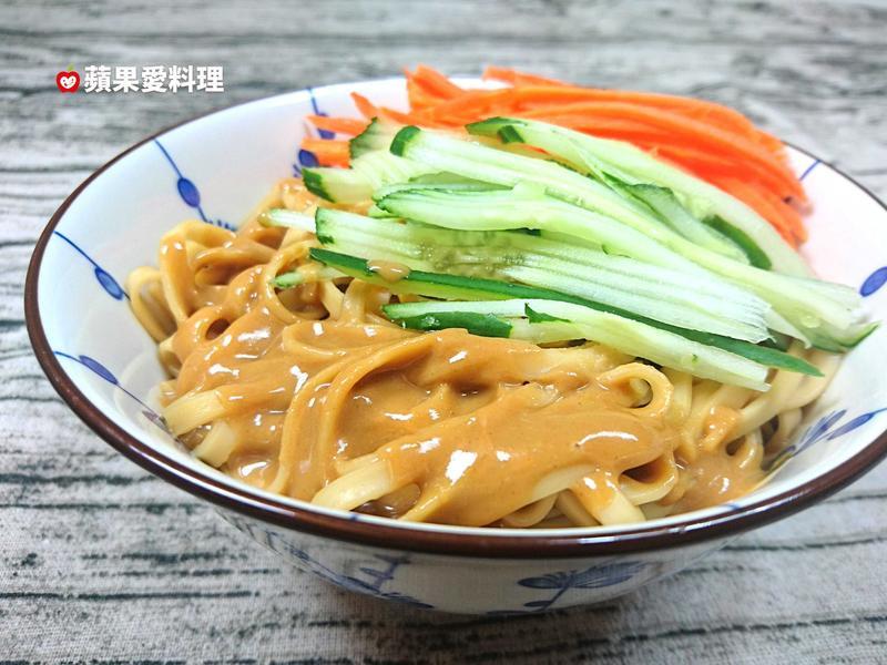 簡易麻醬麵