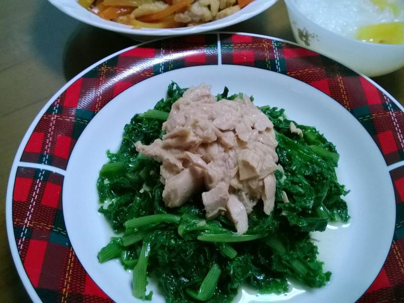 鮪魚涼拌菊苣