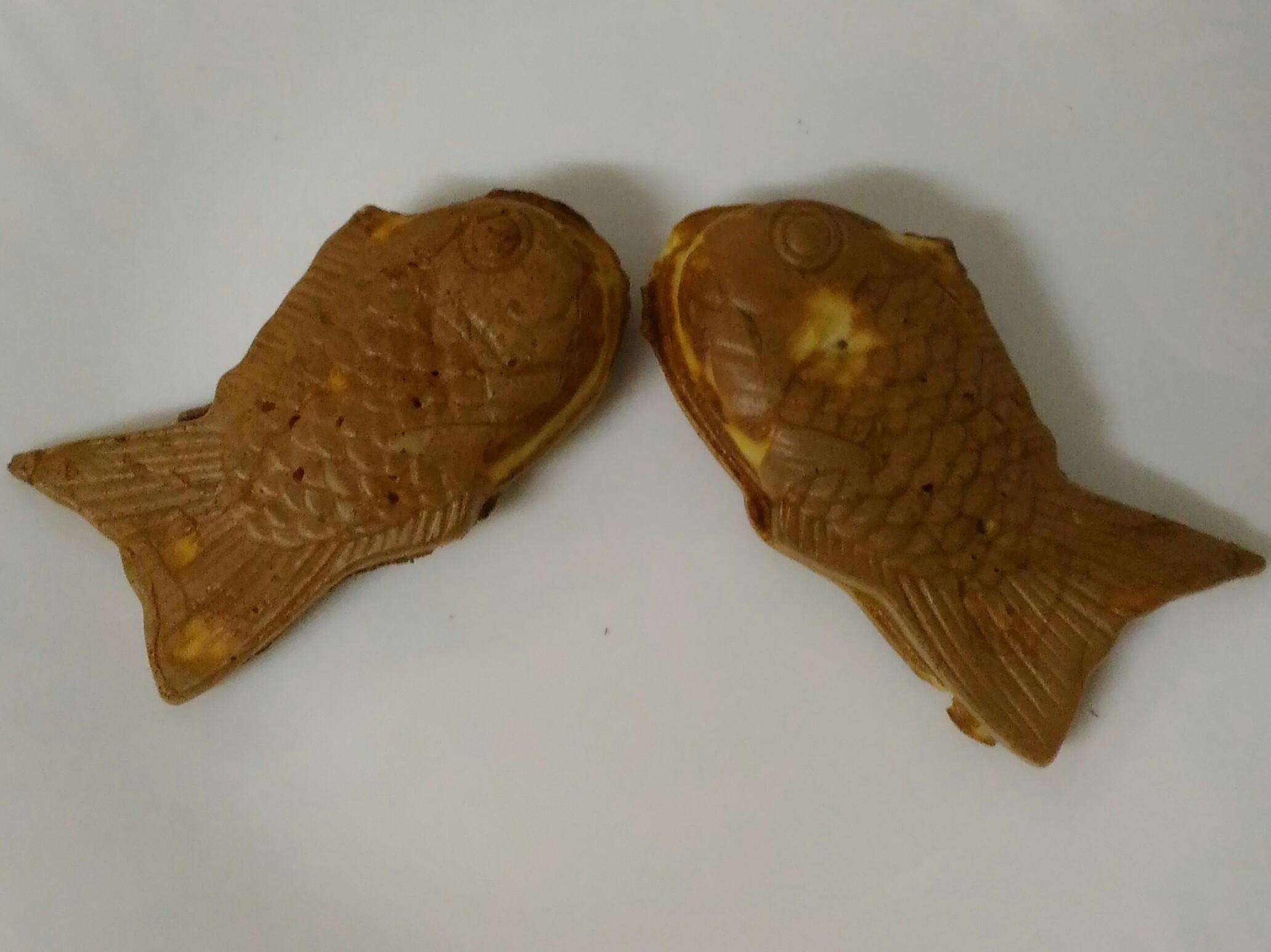 (自調鬆餅粉)小V-雕魚燒