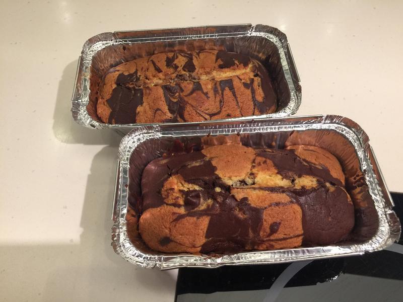 巧克力大理石磅蛋糕