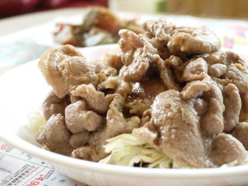 力力和風-薑燒豬肉(豚の)生姜焼き