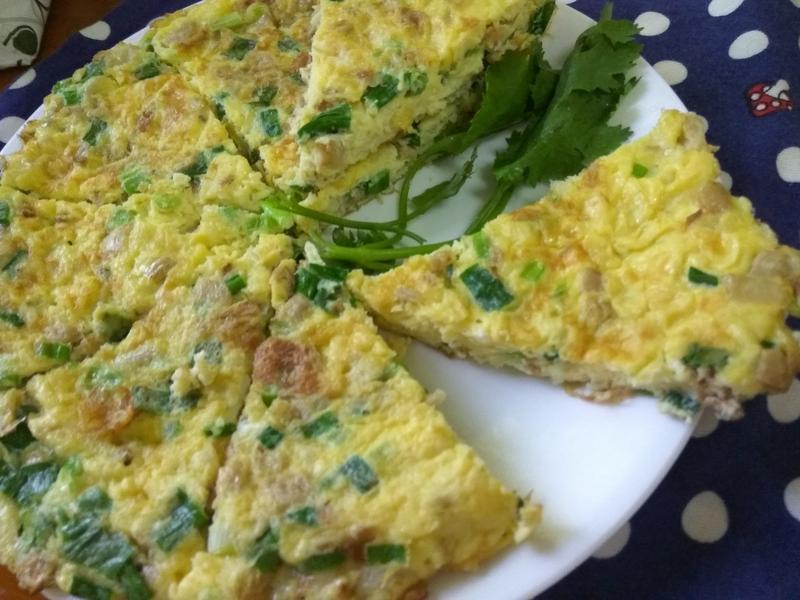 十分鐘上菜─古早味葱花菜圃蛋