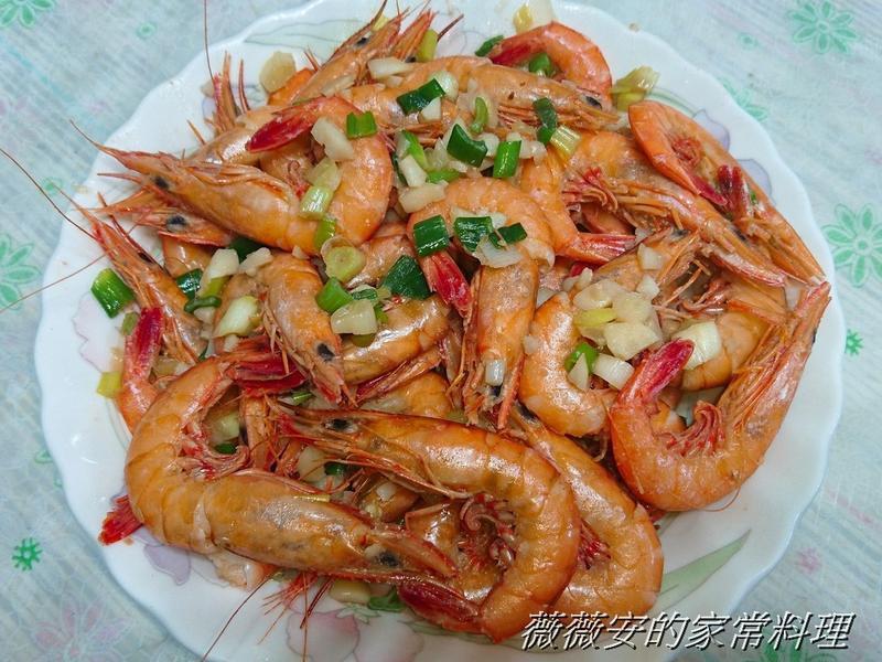 家常菜 炒蝦子