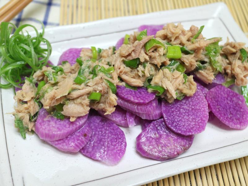 鮪魚醬拌山藥 (((速速好OK涼拌菜