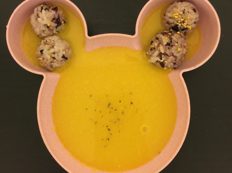 寶寶南瓜玉米濃湯