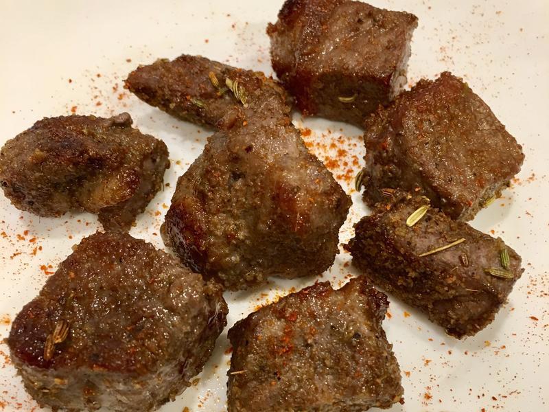 高蛋白「孤單夜裡的孜然烤牛肉」190卡